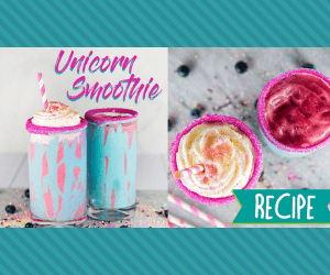 Unicorn Smoothie Recipe