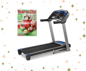 Free Woman's Day Magazine + Win a Treadmill