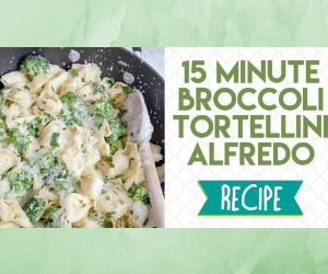 Broccoli Tortellini Alfredo: Easy Weeknight Dinner Recipe