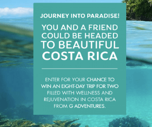 Win A Free Trip to Costa Rica from Canadian Living