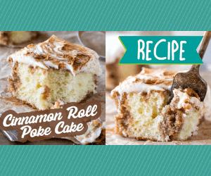 Sweet Cinnamon Poke Cake
