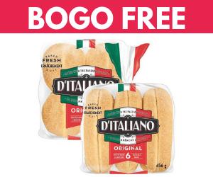 BOGO Free D'Italiano Buns