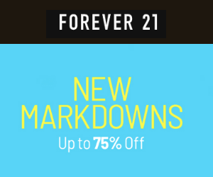 30% Off at Forever 21