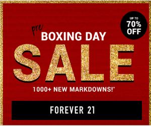 70% Off at Forever 21