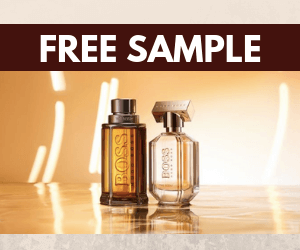 Free Hugo Boss Fragrance Sample
