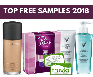Top Free Samples in Canada 2018