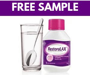 Free RestoraLAX Sample