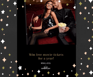 Win $500 RW & CO Gift Card & Free Movies for a Year!