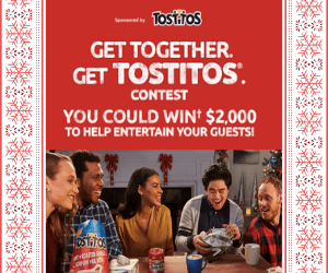 Win $2,000 from Tasty Rewards