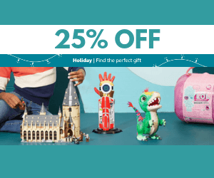 25% Off Toy Sale