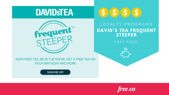 David's Tea Frequent Steeper Program: How Do I Get Free Tea?