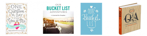valentines day gifts for him the bucket list journal