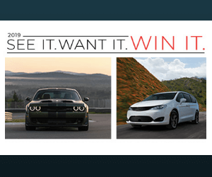 Win a Free Chrysler Car