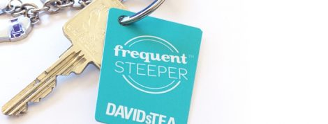 david's tea frequent steeper loyalty program Canada