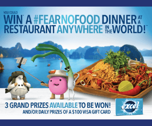 Win a Trip & More from Excel