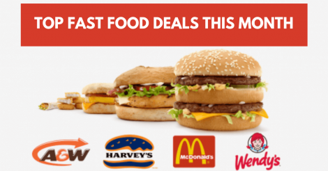 fast food deals canada
