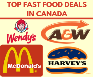 Top Fast Food Deals in Canada: January 2019