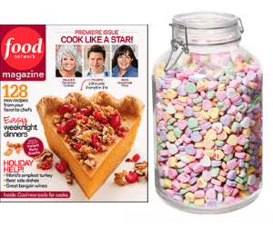 Free Food Network Magazine & Win $500!