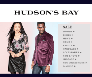 70% Off at Hudson's Bay