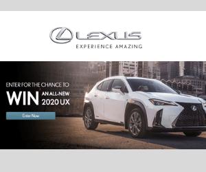 Win a Free 2020 Lexus