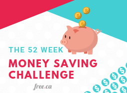 Money Saving Tips: Save $1,300+ with this 52 Week Money Challenge