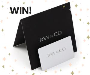 Win a Free $100 RW&CO Gift Card