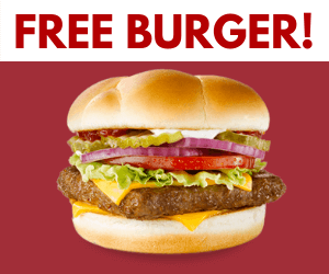 Free Wendy's Dave's Single Cheeseburger