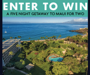 Win a Free Trip to Maui from WestJet!