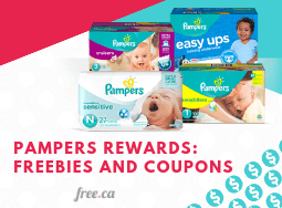 Pampers Free Samples Canada: Join Pampers Rewards