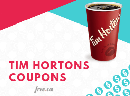 Tim Hortons Coupons: How To Get Them