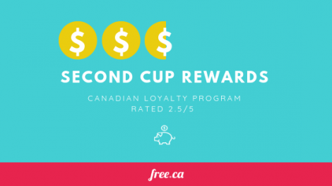 Free.ca loyalty programs Canada rated Second Cup Rewards