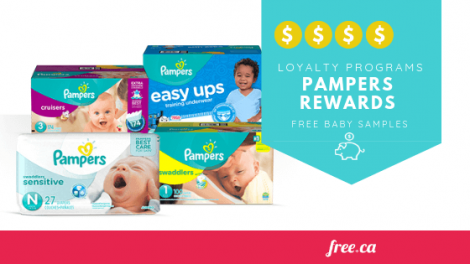 pampers free samples canada