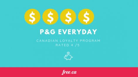 P&G Everday rated by Free.ca loyalty programs Canada