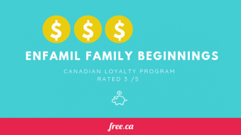 Enfamil Family Beginnings rated by Free.ca loyalty programs in Canada