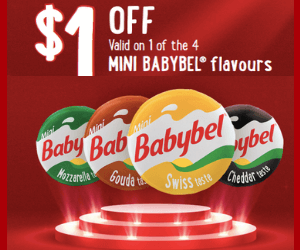Babybel $1 Off Coupon