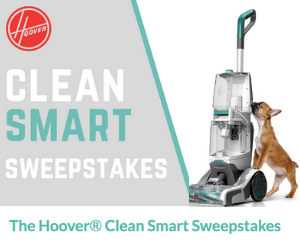 Win a Free Hoover Carpet Cleaner!