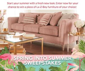 Win Free La-Z-Boy Furniture