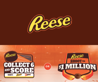 Free Reese's Collect & Score Giveaway