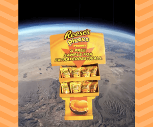 Free Reese's Pieces