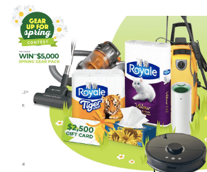 Win a $5,000 Royale Prize Pack + $1 Off Coupon