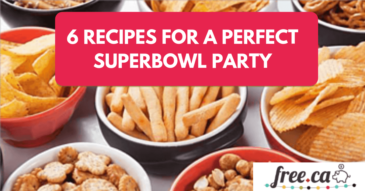 6 Recipes For A Great Super Bowl Party