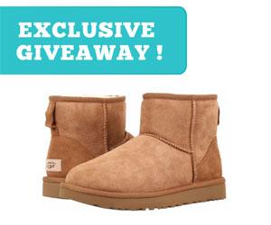 UGG Boots Giveaway