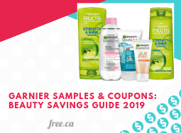 Garnier Free Samples & Coupons: Beauty Savings Guide 2019