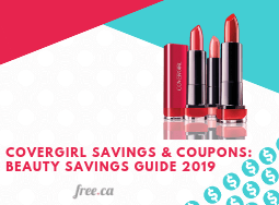 Covergirl Free Samples & Coupons: Beauty Savings Guide 2019