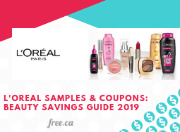 LOreal Coupons, Samples & Giveaways: Beauty Savings Guide