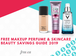 Free Makeup Samples Canada: 2019 Savings Guide