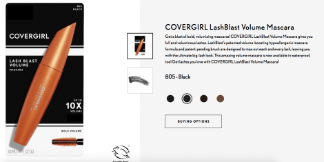 covergirl free samples