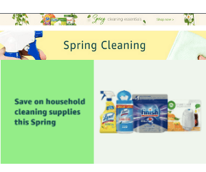 25% Off Spring Cleaning Essentials at Amazon