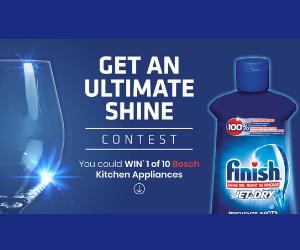 Win 1 of 10 Free Bosch Appliances