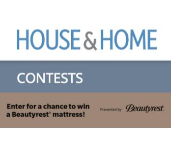 Win A Beautyrest Mattress from House & Home